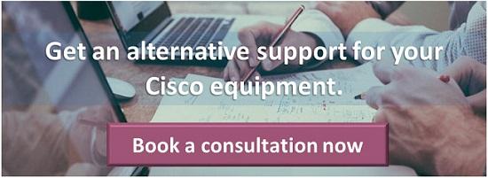 Cisco support alternative